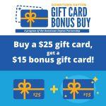 DDP announces Gift Card Bonus Buy program
